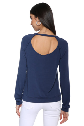 Project Social T All Day Long Cutout Sweatshirt