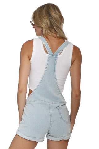 Z Supply The Knit Denim Shortalls