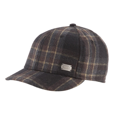 The Preston Cap - Brown Plaid