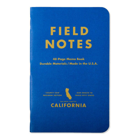 Field Notes California County Fair - 3 pack