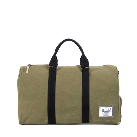 Herschel Supply Novel Canvas Duffel Bag - Washed Army