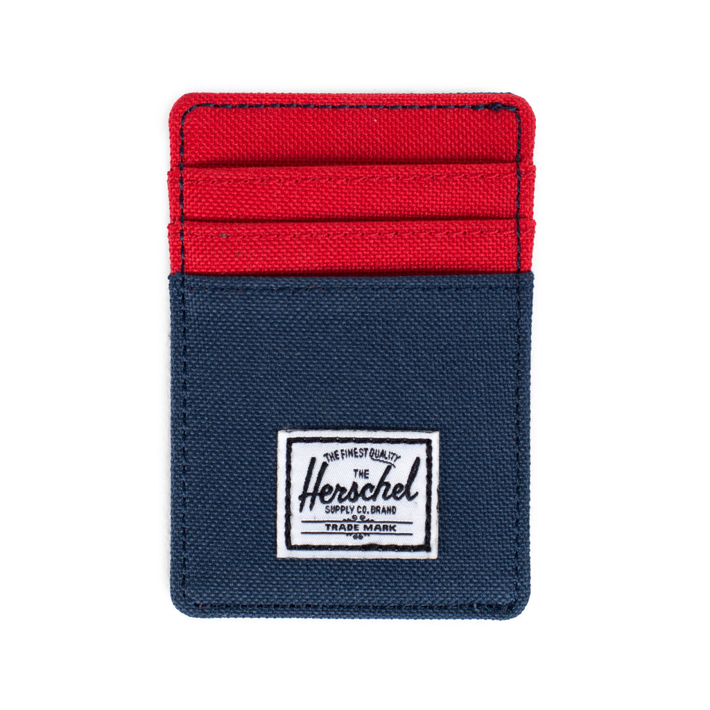 Herschel Supply Raven Wallet - Navy & Red