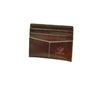 Thunderbird Flat Card Carrier - Brown & Ivory