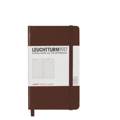Leuchtturm1917 Pocket Notebook - Brown Ruled