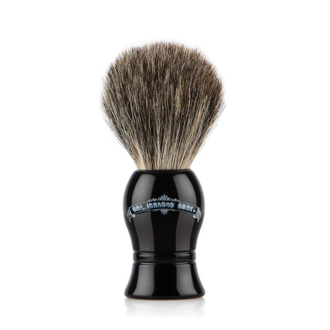 Pure Badger Shaving Brush  - Black Handle