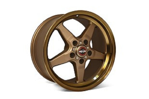 "Race Star Bracket Racer Wheel 17"" x 9.5"" - Bronze"