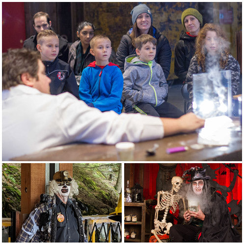 Children's Halloween Activities at Britannia Mine Museum