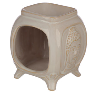 Embossed Buddha Ceramic Oil Burner
