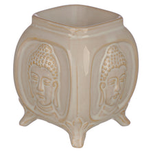 Load image into Gallery viewer, Embossed Buddha Ceramic Oil Burner