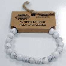 Load image into Gallery viewer, White Jasper Power Bracelet