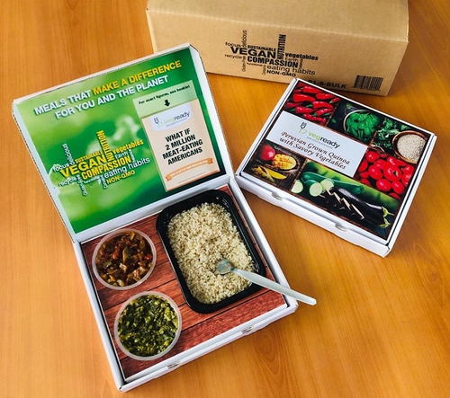 Veg Ready Meal Boxes