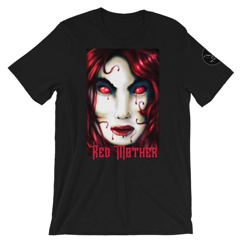 Red Mother Short-Sleeve Unisex T-Shirt