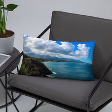 Load image into Gallery viewer, Hawaii Landscape - Throw Pillow