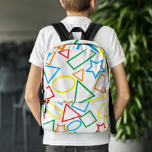 Load image into Gallery viewer, Colorful Shapes - Backpack