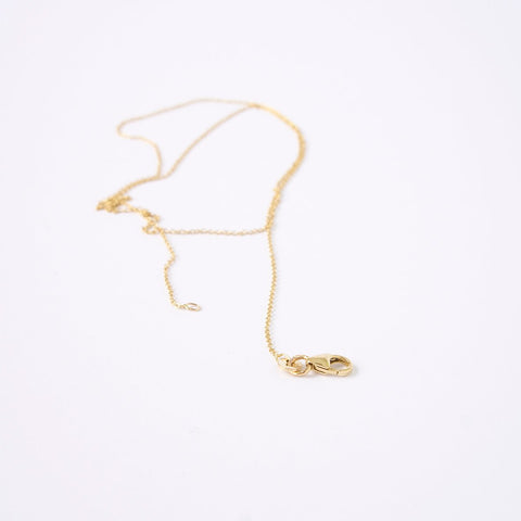 14 krt gold fine necklace
