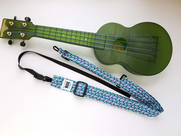 All in One Hug Strap for Ukulele Kaleidoscope