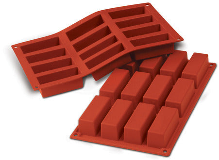 Silikomart SF026 Cake mold, (Make 12 pieces)