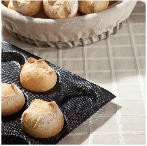 Demarle Silform - Round Shape Bread Proofing and Baking Tray - Vol. 1.01 oz (30 ml)