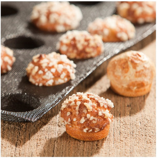 Demarle SF 2435 Silform - Chouquettes Bread Proofing and Baking Tray - Vol. 14 ml (0.47 oz)