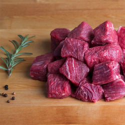 Halal - Beef - Stewing Beef Hand Cut Daily 1lb packages