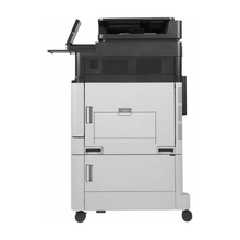 Load image into Gallery viewer, Buy a HP Color LaserJet Enterprise flow M880z with Stapler & Stacker from Micropeer