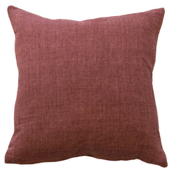 Cushion Linen Red Clay