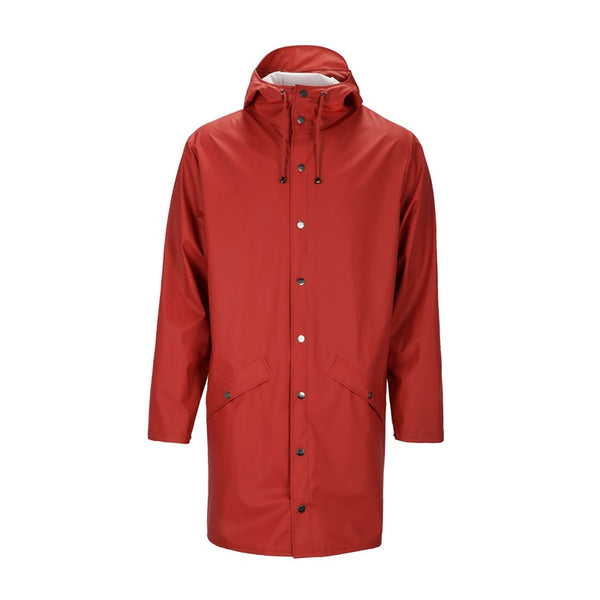Raincoat Long Jacket Scarlet