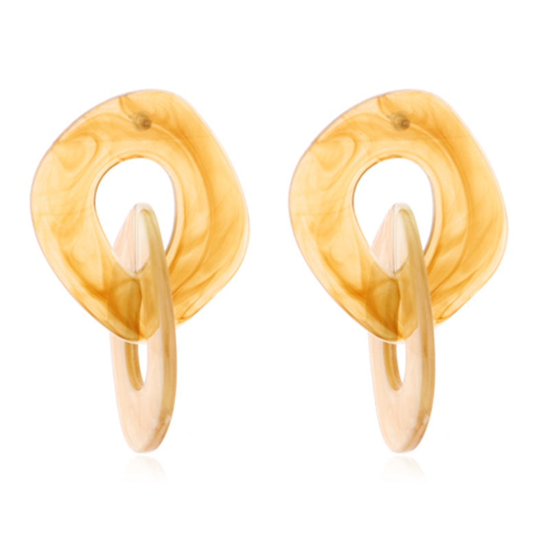 Earrings gold Carapace T/Shell Gold Circle