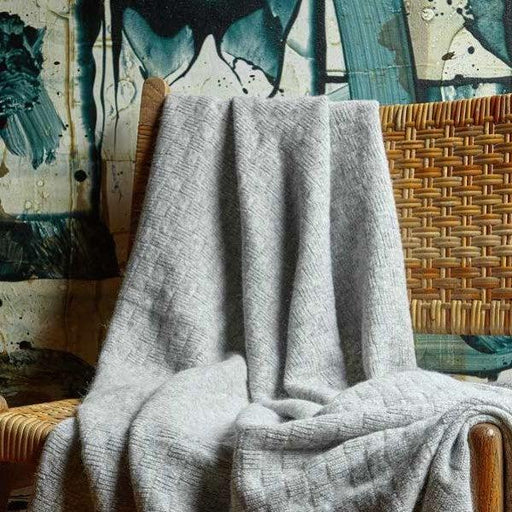 Bemboka Throw - Angora and Wool Lightbox