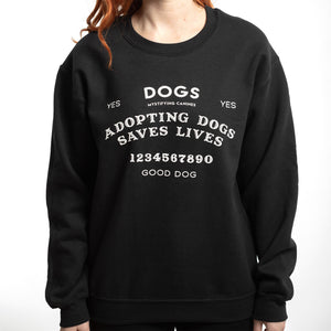 Adopting Dogs Saving Lives Sweatshirt