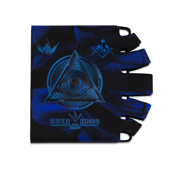 Bunkerkings - Knuckle Butt Tank Cover - Conspiracy - Blue