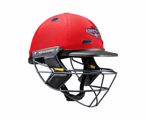 Masuri SENIOR Vision Series Elite Helmet with Titanium Grille - Essendon Maribyrnong Park Ladies CC