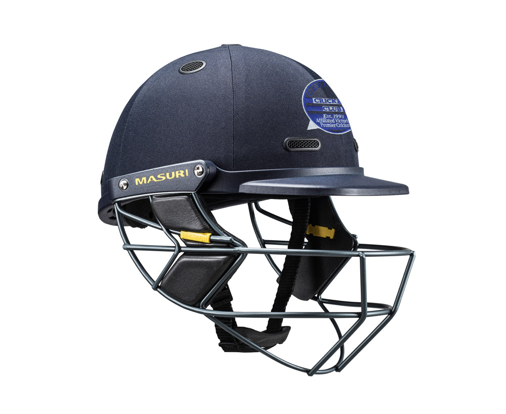 Masuri SENIOR Vision Series Test Helmet with Steel Grille - Geelong CC