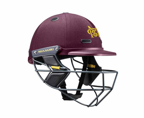 Masuri SENIOR Vision Series Test Helmet with Steel Grille - Murrumbeena CC
