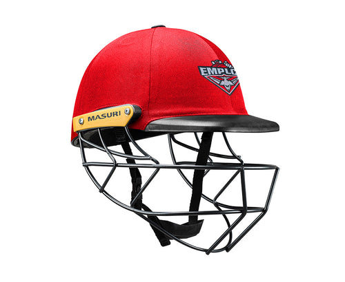 Masuri Original Series MK2 SENIOR Legacy Plus Helmet with Steel Grille - Essendon Maribyrnong Park Ladies CC