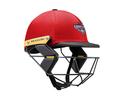 Masuri Original Series MK2 JUNIOR Test Helmet with Steel Grille - Essendon Maribyrnong Park Ladies CC