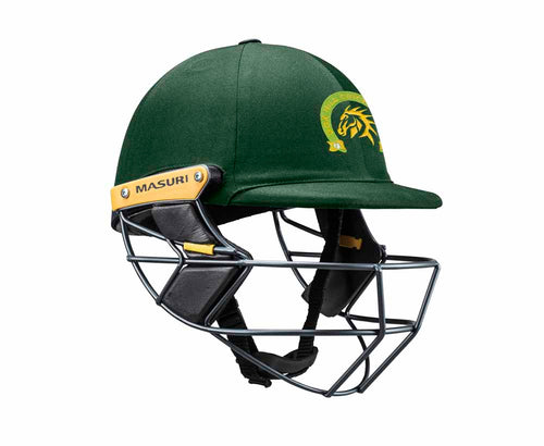 Masuri Original Series MK2 SENIOR Test Helmet with Steel Grille - Box Hill CC