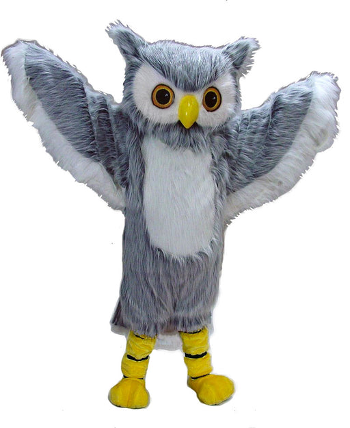 42050 Grey Owl Mascot Costume
