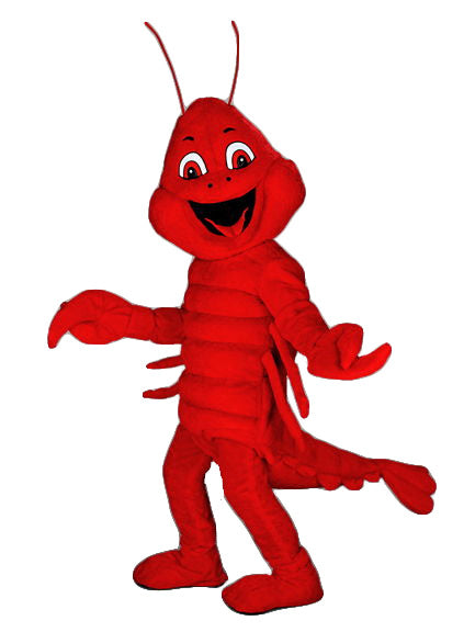 178B Red Lobster Mascot Costume