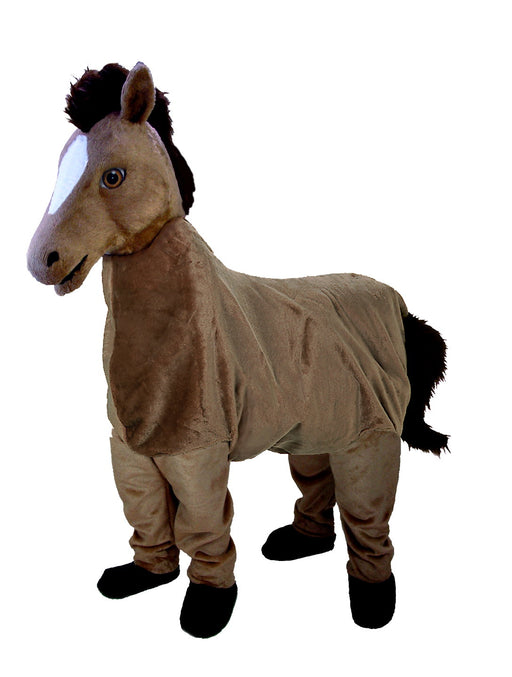 T0166-2 2 Person Horse Mascot Costume (Thermolite)