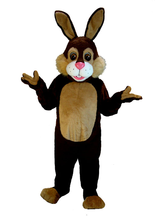 T0222 Chocolate Rabbit Mascot Costume (Thermolite)
