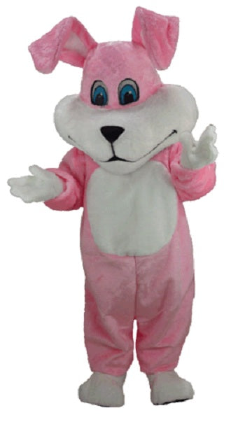 T0227 Super Pink Rabbit Mascot Costume (Thermolite)