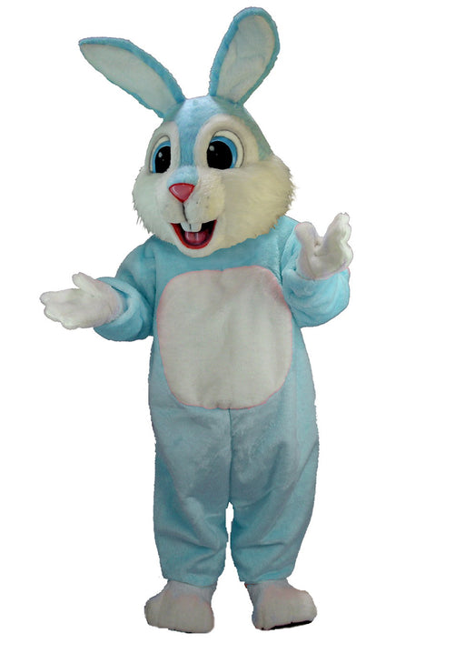 T0232 Light Blue Rabbit Mascot Costume (Thermolite)