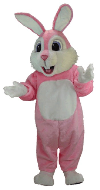 T0234 Pink Rabbit Mascot Costume (Thermolite)