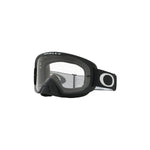 OAKLEY O FRAME 2.0 MX GOGGLE (MATTE BLACK) CLEAR & DARK GREY LENS