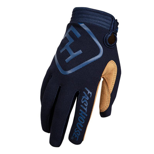 FASTHOUSE SPEED STYLE SOLID ADULT GLOVES NAVY