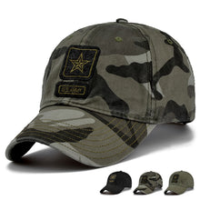 Load image into Gallery viewer, New Men Pentagram Cap Top Quality U.S. Army Caps Men's Hunting Fishing Hat Outdoor Camo Baseball Hats Adjustable