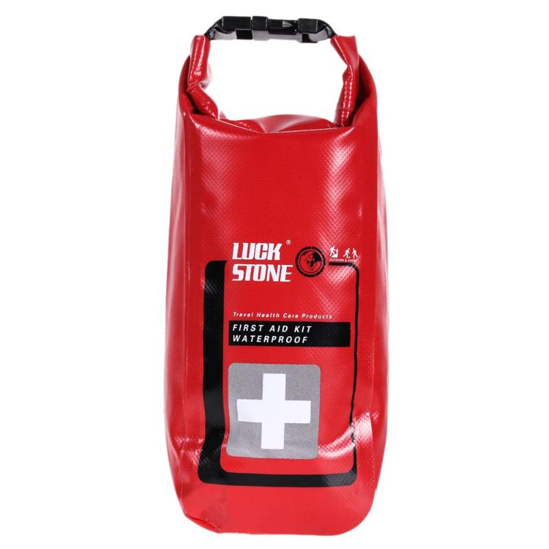 2L Waterproof First Aid Bag Emergency Survival Kit Empty Travel Dry Bag Outdoor Camping Rafting Kayaking Portable Medical Bag
