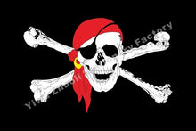 Load image into Gallery viewer, A variety of different styles of pirate flags Pirate Flags With Grommets Decoration Holloween Decoration flag