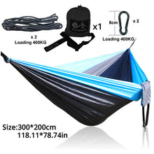Load image into Gallery viewer, camping hammock nylon camping chair swings